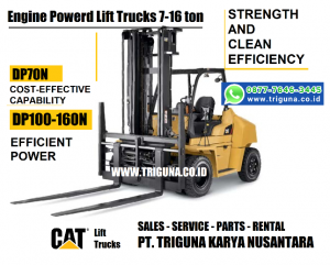 Harga forklift Caterpillar 3 ton second di Bula  (0819.3823.7888)
