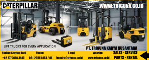 Jual forklift Caterpillar  second di Bobong  (0822.6849.9889)
