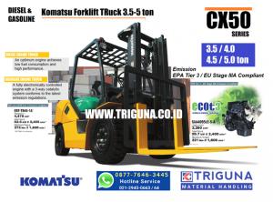 Sales forklift Komatsu 5 ton baru di Kalisari ((0877.7646.3445)) Nana