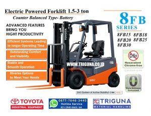 Sales forklift TOYOTA 3.5 ton second di Jayamukti Bekasi (0896.5773.8834)