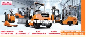 Jual Forklift TOYOTA PT. TRIGUNA KARYA NUSANTARA