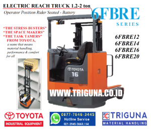 Penawaran forklift Toyota 2.5 ton second di Buru (08777.6463.445) Feni