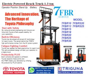 Penawaran forklift TOYOTA 3 ton baru di Cikarang Selatan Bekasi (0838.7958.1444)